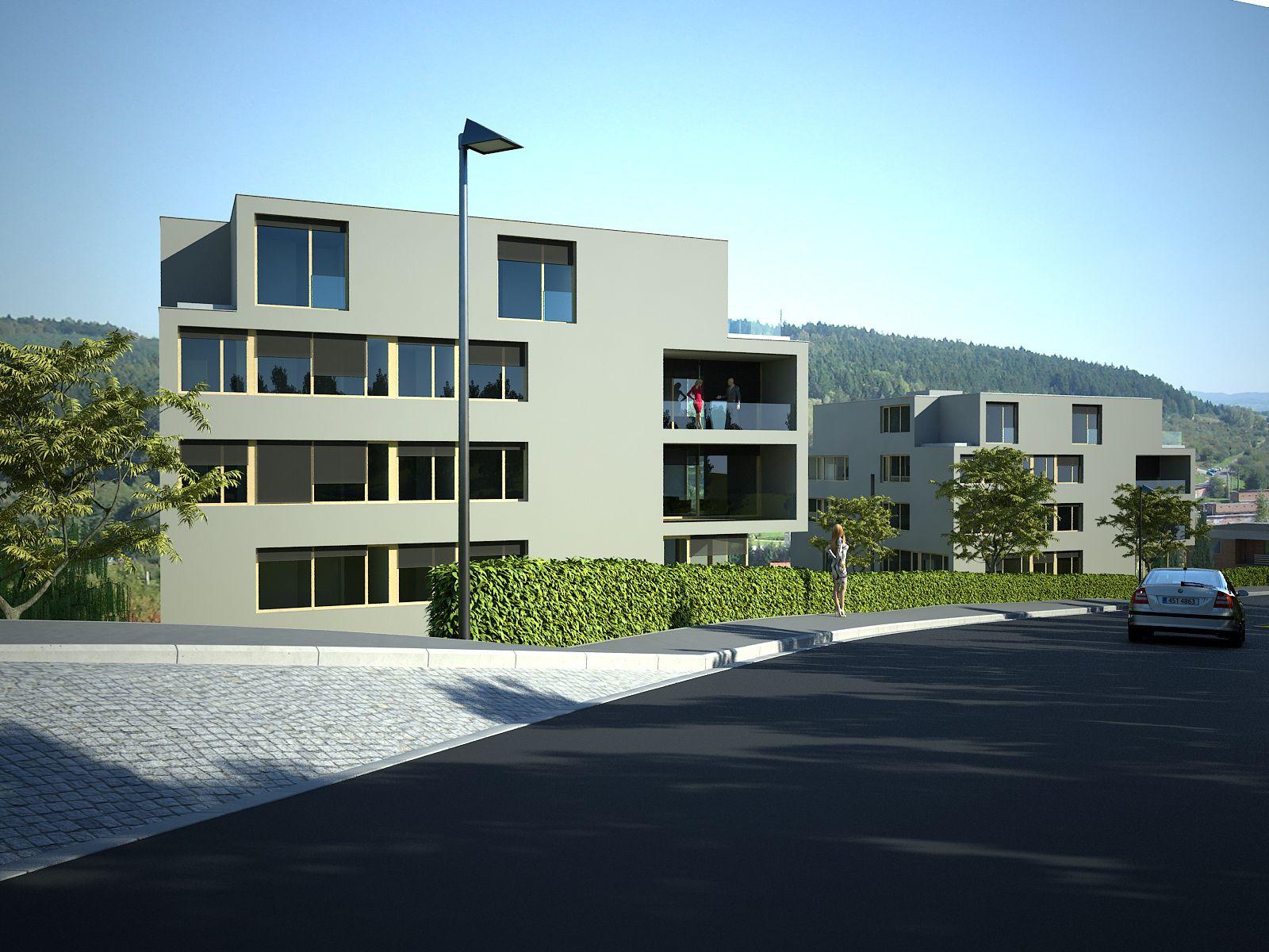 Rezidence Zlín, Nivy