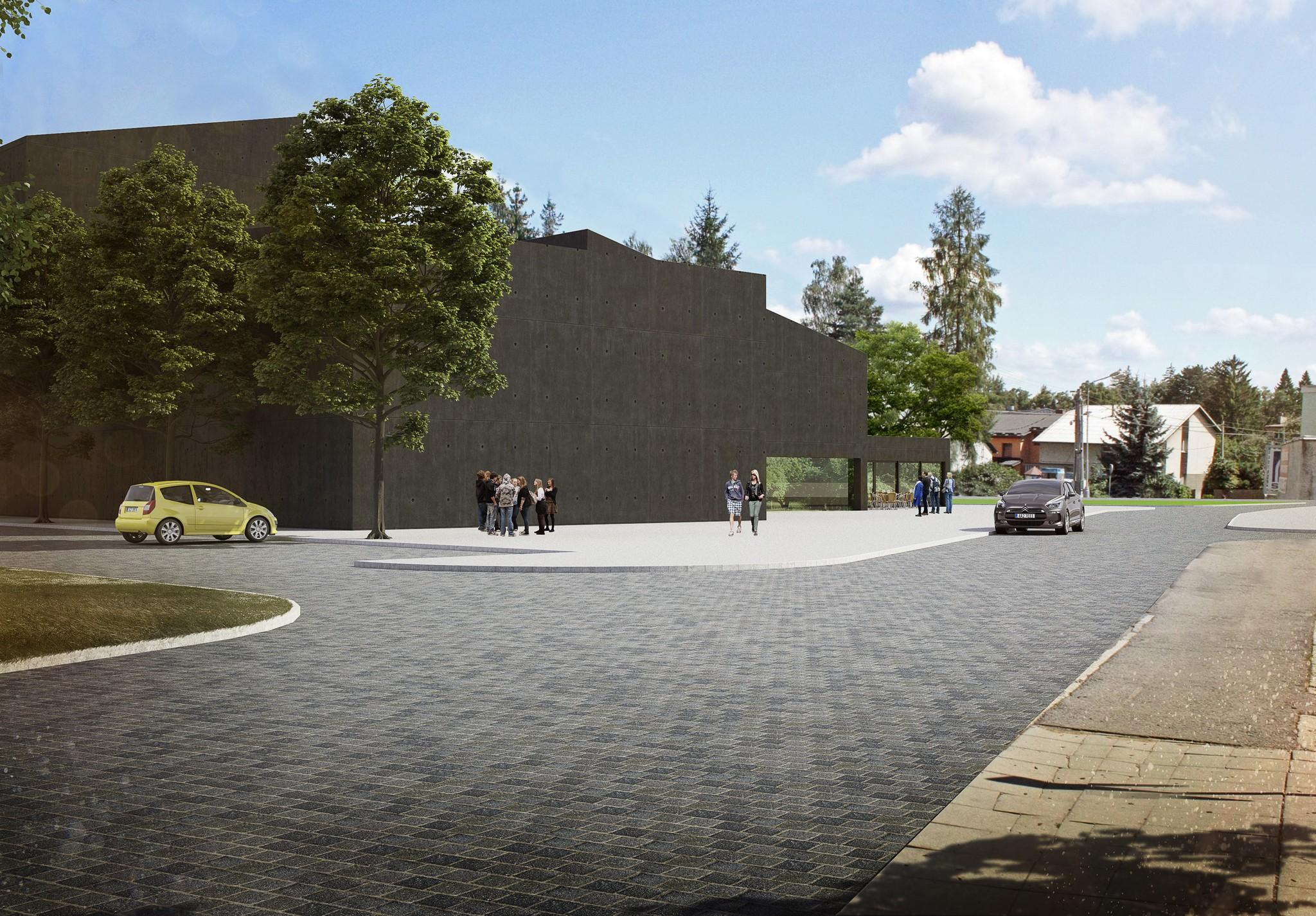 Kulturní centrum v Rožnově pod Radhoštěm