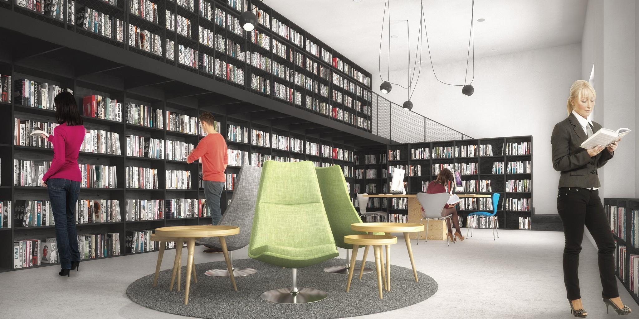 Adaptace objektu na knihovnu a víceúčelový sál, Nový Hrozenkov